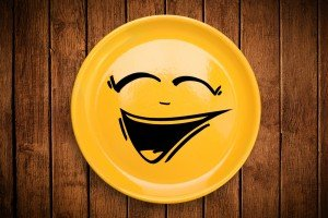 shutterstock_156766394 smiley plate